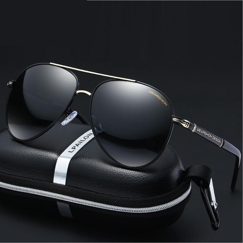 偏光太陽鏡男司機鏡開車墨鏡男士潮人駕駛眼鏡圓臉個性眼睛蛤蟆鏡
