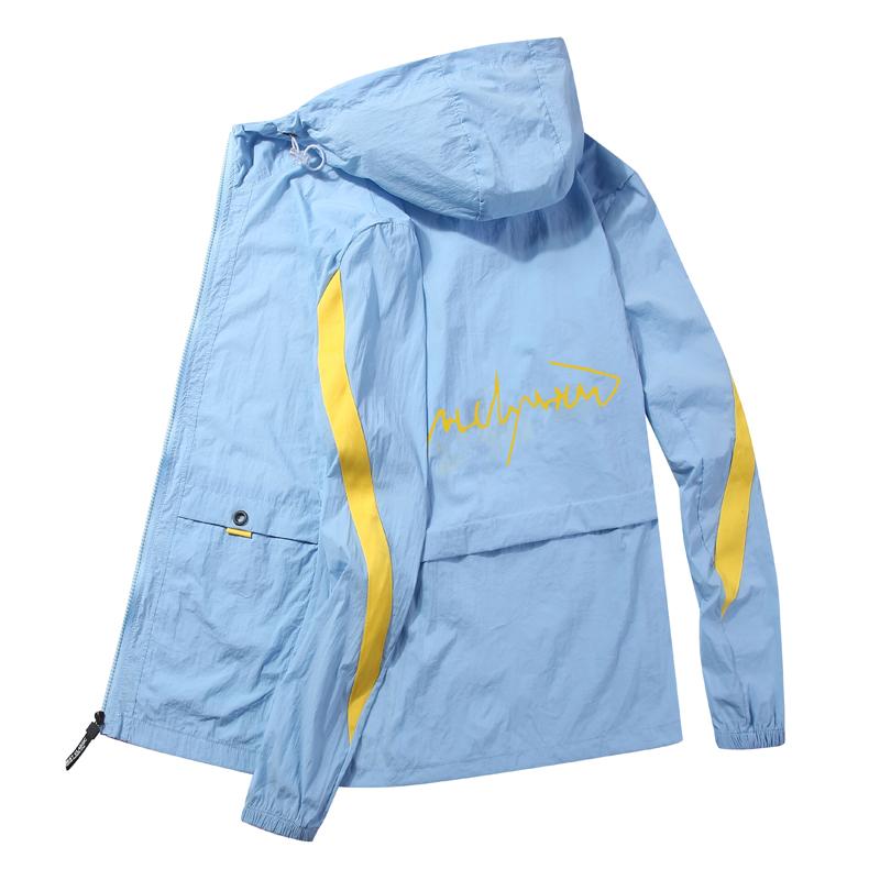 防晒衣服夏季超薄款透气帅气男士外套