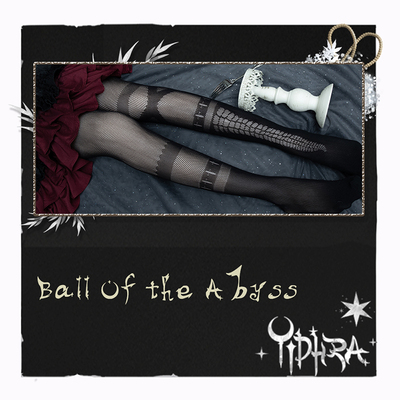 taobao agent Yidhra Dream Witch Original {Abyss Prom} Halloween Gothic Lolita Pantyhose