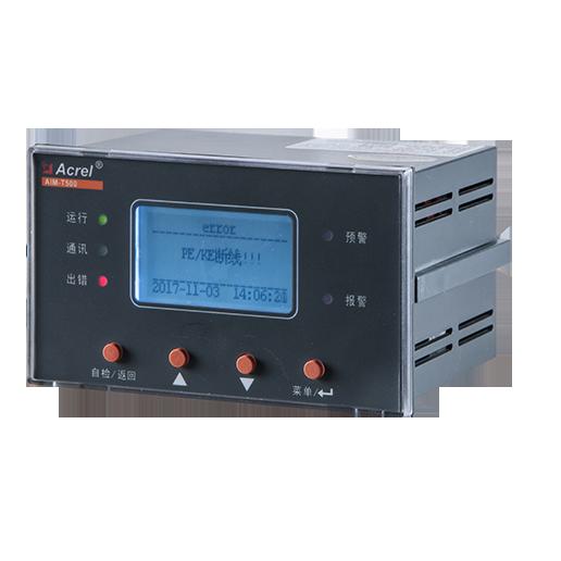 安科瑞电气AIM-T500不接地系统工业绝缘监测仪 690V交流800V直流