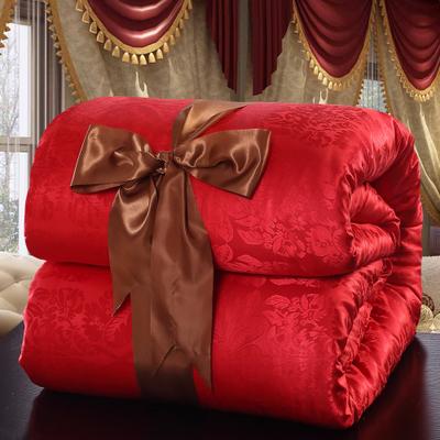 2017 bộ đồ giường cưới satin jacquard quilt được cored bởi 1.8 m giường 2 m giường mùa hè quilt