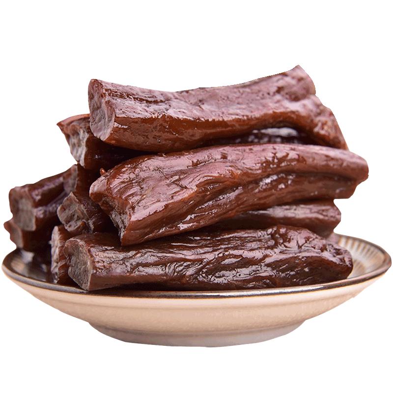 内蒙古手撕牛肉干条特价零食500克券后49.9元包邮