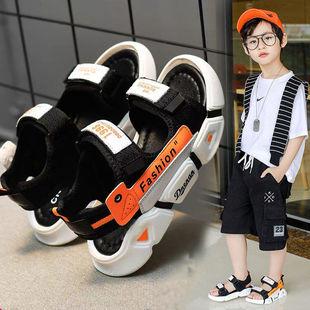 男童凉鞋2021新款夏季中大童软底防滑小男孩沙滩鞋儿童潮男童鞋子