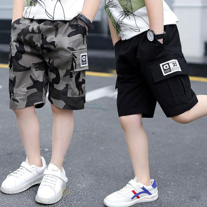 男童短裤夏装儿童五分裤中大童裤