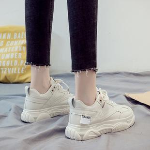 老爹鞋女秋冬百搭ins潮時尚運動鞋小白鞋