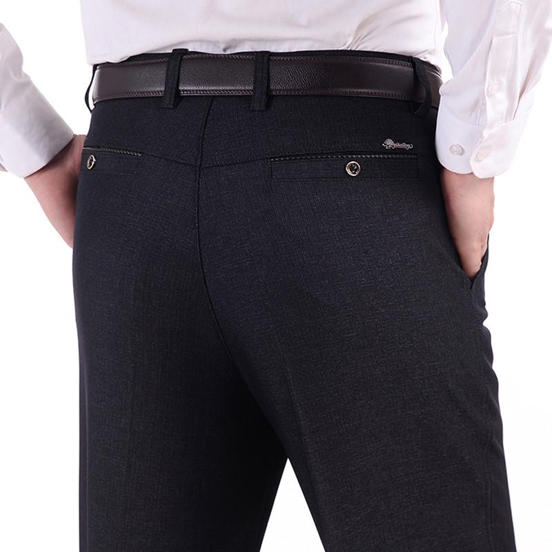 中老年男裤春秋中年男士休闲裤老人裤子