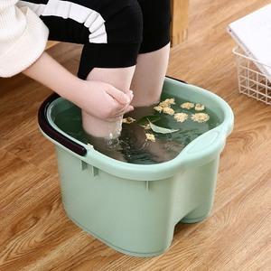 泡脚桶过小腿泡脚盆家用塑料洗脚盆洗脚桶足