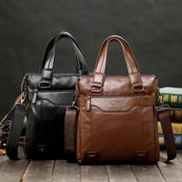 拜登袋鼠男士手提包手拿真皮大容量商务简约单肩斜挎包休闲公文包