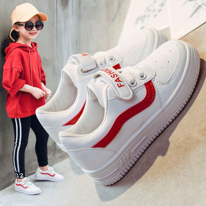儿童运动鞋男童2021春秋新款女童小白鞋韩版小学生休闲鞋板鞋子潮