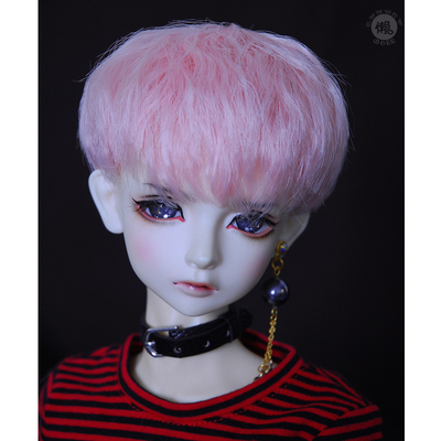 taobao agent Lazy baby bjd wig 3 4 6 points uncle sd doll male baby girl daily micro-volume short hair male god fake hair