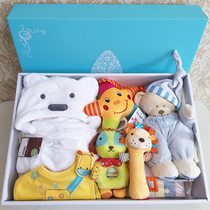 Sản phẩm em bé, đồ chơi, quilt, đầu tiên trẻ sơ sinh hộp quà tặng, em bé, trăng tròn, 100 ngày, món quà lớn, bốn mùa