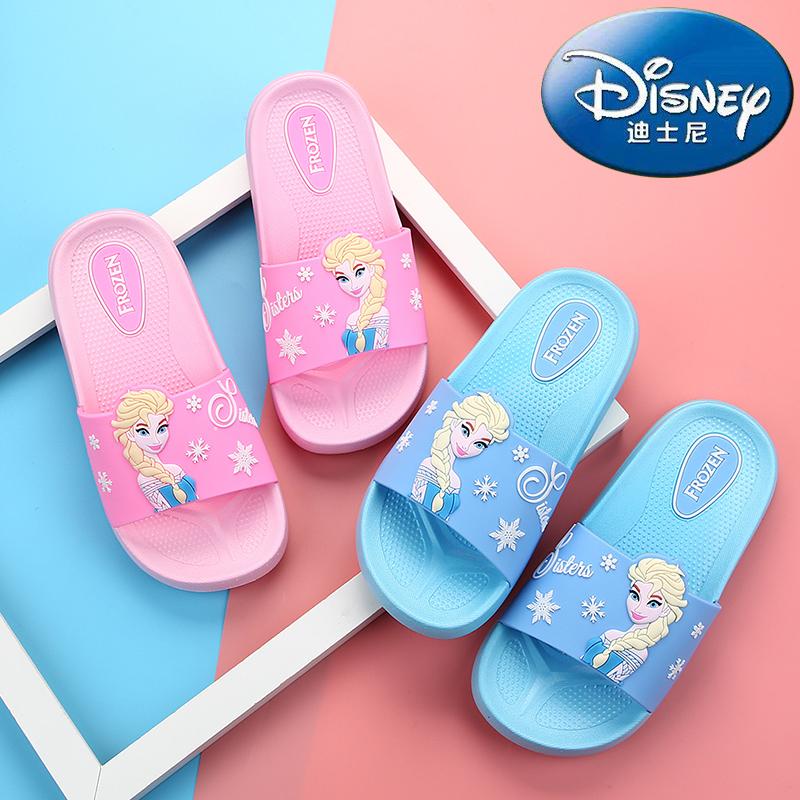女童夏季卡通防滑凉拖鞋