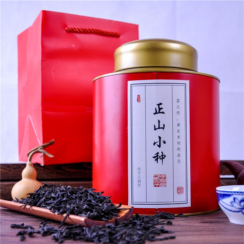 正山小种茶叶【蚂蚁望月茶艺】武夷山红茶浓香一级新春茶500g