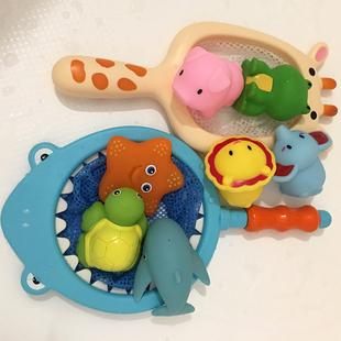 宝宝洗澡玩具儿童益智捞鱼戏水
