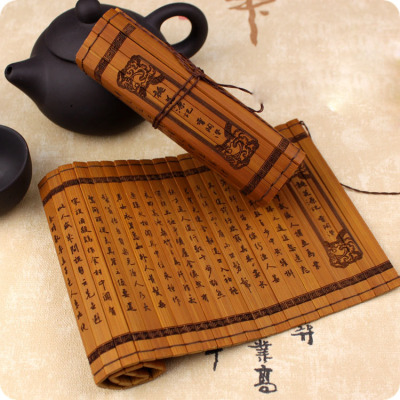 taobao agent 【Nanjing physical store】bjd 3 points/uncle size mini bamboo slips ancient bamboo books doll house shooting props