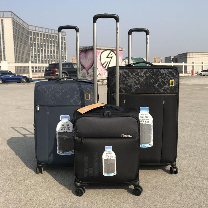 Được xuất khẩu sang Hoa Kỳ 20 chiếc siêu xe vải Oxford lên xe đẩy trường hợp vali 24 inch vali vải hành lý câm bánh xe phổ quát 28 - Va li