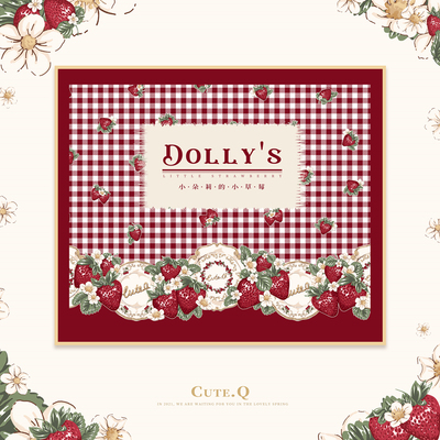 taobao agent 【Jump collection】2021.3.12 Little Dolly's Little Strawberry Collection page CuteQ original lolita