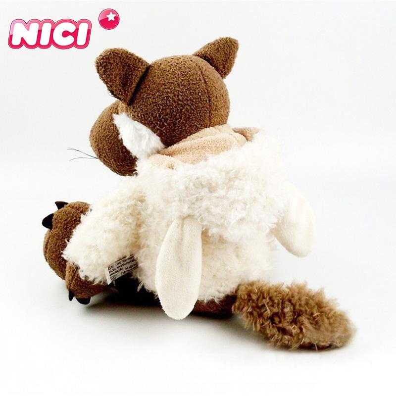 in ngụy trang sói búp bê sói cừu đồ chơi sang trọng trùm đầu sói trẻ em ragdoll búp bê quà tặng - Đồ chơi mềm