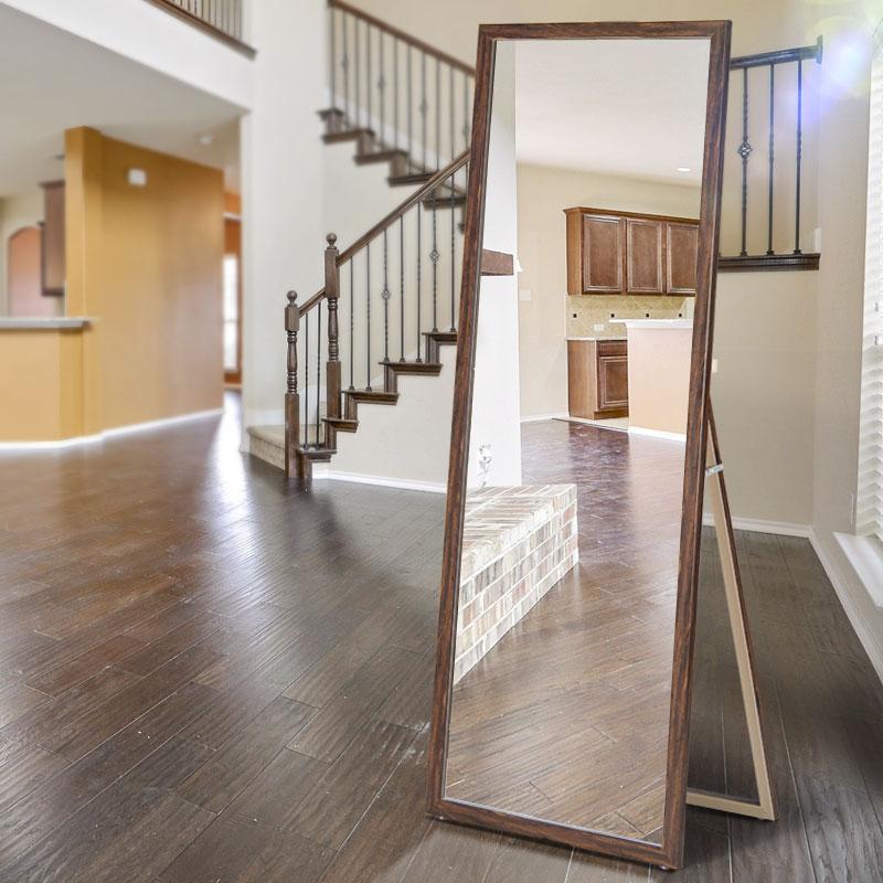 卧室家用全身穿衣镜落地镜壁挂简约