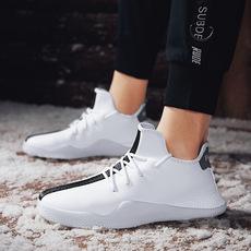2018冬季新款加绒保暖休闲棉鞋男鞋6K