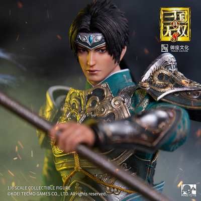 taobao agent RingToys play world Three Kingdoms Warriors 8 Zhao Yun official genuine 1/6 soldier movable doll soldier hand