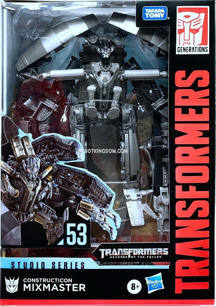 Transformers Hasbro Takara Tomy Studio Series SS53  Mixmaster E7215 in stock