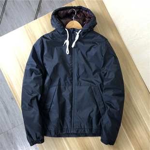 Foreign trade Germany single high-density windproof and waterproof fabric autumn and winter thin cotton-padded jacket outdoor leisure hooded jacket