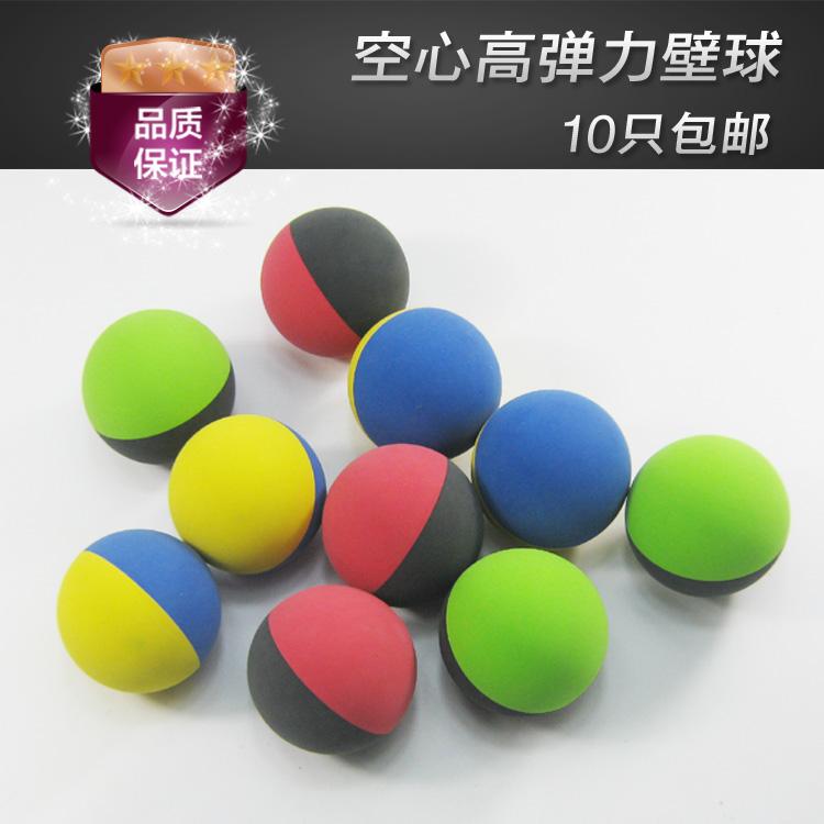 Squash vợt người mới bắt đầu bóng cao su rỗng đàn hồi cao bóng điểm nhập red green vàng bóng giải phóng mặt bằng đồ chơi trẻ em bouncy bóng