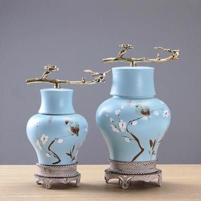 新中式陶瓷摆件创意摆设家居装饰客厅电视柜玄