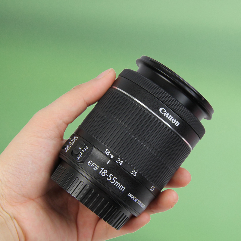 Ống kính chống rung SLR Canon EF-S 18-55mm IS STM 24-70 55-250 telephoto