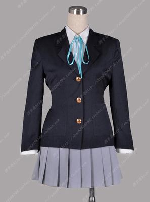 taobao agent Light tone girls school uniforms COS clothes Akiyama Mio clothes flat feet only uniforms