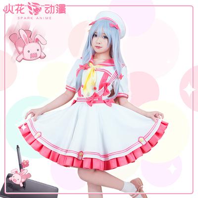 taobao agent Spark anime Eromanga teacher Izumi Sagiri cos magical girl soft sister Huang Man cospaly costume