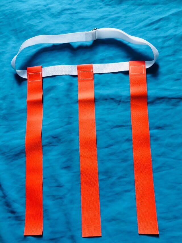 Rugby eo cờ vành đai ribbon kéo cờ capture cờ tear cờ rách trò chơi thương hiệu cờ trẻ em sinh viên dành cho người lớn phổ