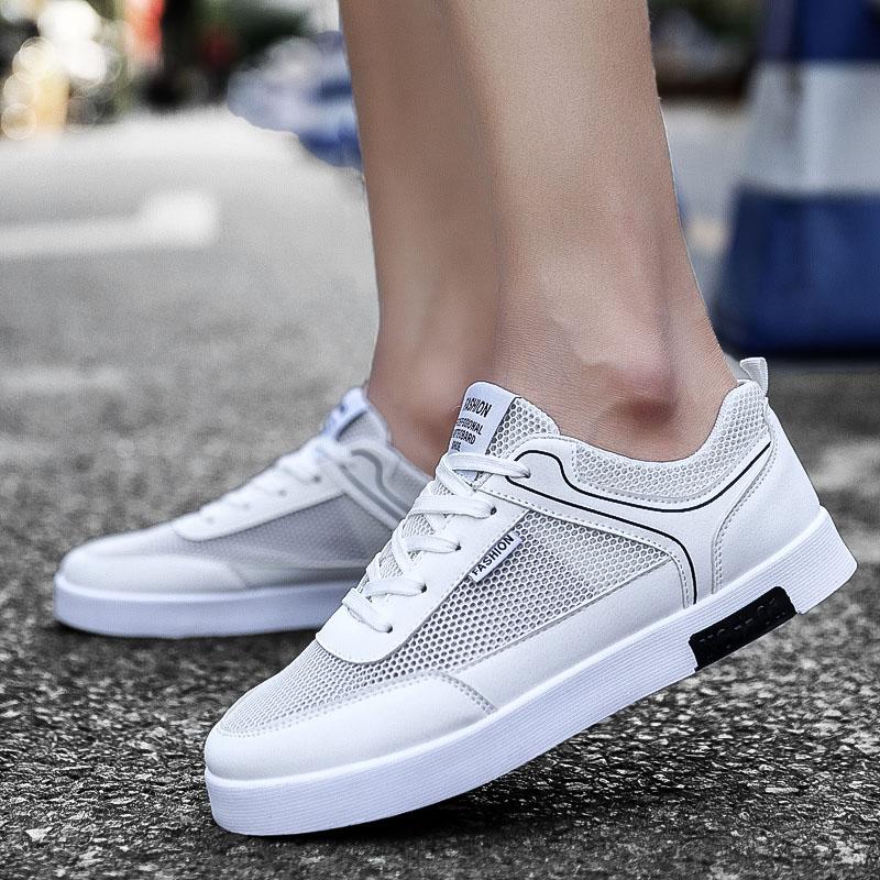 Mùa hè mới của nam giới thể thao thoáng khí giản dị lưới giày 2018 Hàn Quốc thời trang nam giới lưới giày thường thấp để giúp giày