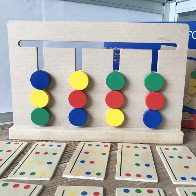 Monte giáo dục sớm đồ chơi giáo dục Montessori sắp xếp logic dạy học 3-4-5-6 tuổi phiên bản trẻ em đặt Montessori - Đồ chơi giáo dục sớm / robot