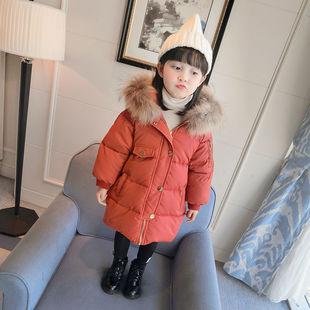 韩版百搭儿童羽绒加厚外套