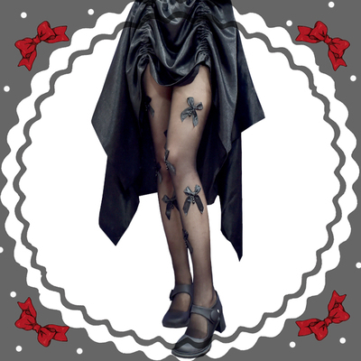 taobao agent Sweet and cool Japanese Lolita thin bow pantyhose dark Lolita white stockings pure desire lo mother bottoming socks