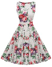 985#实拍1950\'s Spring Garden Party Picnic Dress Party Dress