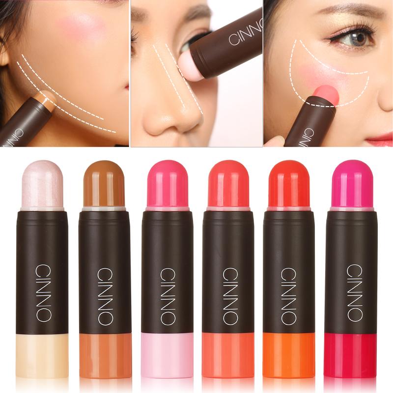 Chính hãng khuôn mặt nổi bật bóng stick stereo công suất sửa chữa blush cream nose shadow thin mặt trang điểm Hàn Quốc bóng mắt chân tóc