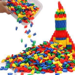 火箭子彈頭積木兒童益智拼裝積木
