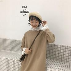 实拍 实价 8134 韩版简单大方气质拼接蕾丝时尚百搭连衣裙 已质检