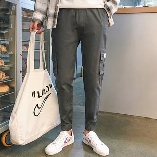 祖玛珑工装裤男裤休闲裤宽松束脚裤