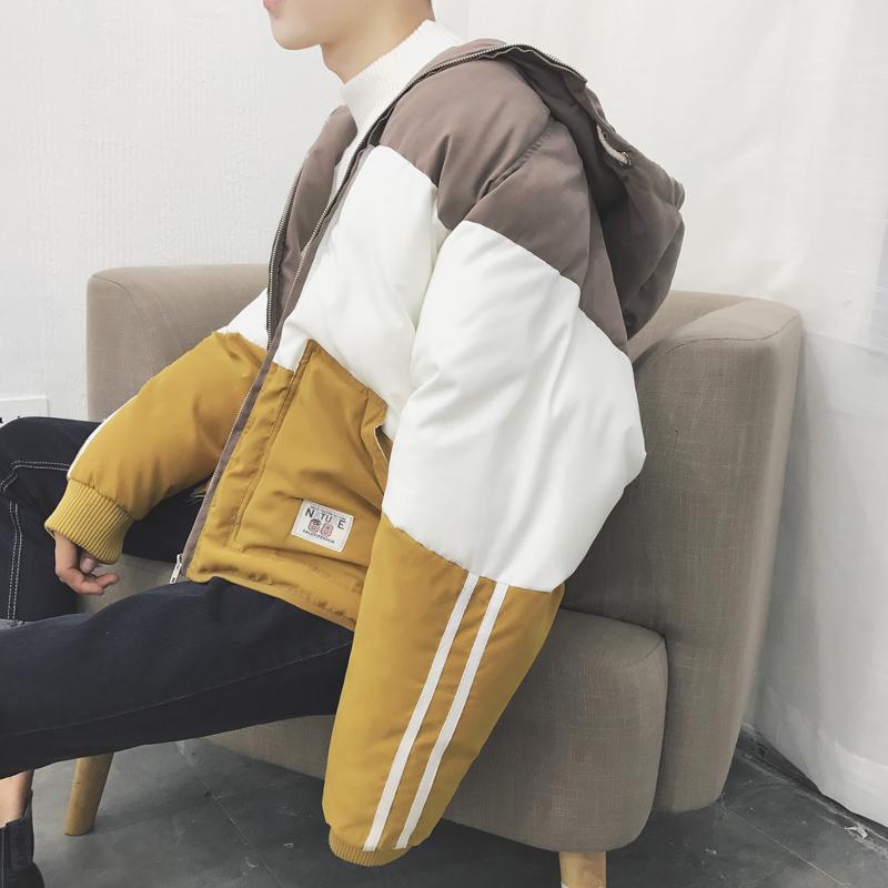 [Đặc biệt cung cấp] những người yêu thích mặc bông độn trùm đầu bf gió Hàn Quốc phiên bản của mùa đông bánh mì quần áo triều nam sinh viên áo khoác