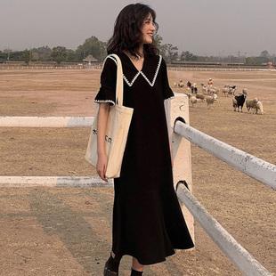 【网红爆款】连衣裙女显瘦法式雪纺长裙
