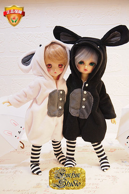 taobao agent BJD baby clothes puppet clothes rabbit chick 1/6 1/4 giant baby MDD small spot without doll