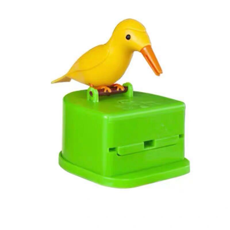 抖音同款:小鸟牙签盒