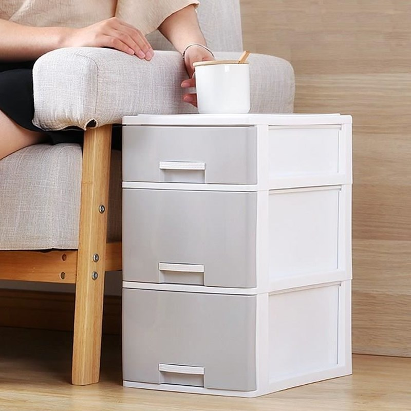 Plastic office small drawers desk storage cabinet storage