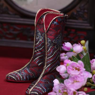 taobao agent ASDOLL Angel Studio, BJD shoes, 74 men's Chou Shixian antique riding boots, SH119112