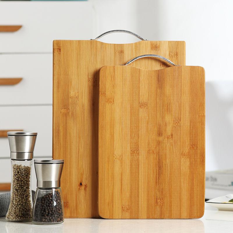 菜板砧板家用♂厨房用品擀面板竹占大号防霉和№面板切菜板揉面案板