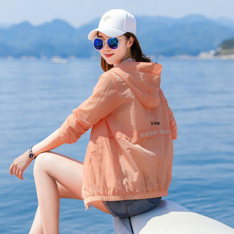 防晒衣女防紫外线短夏季防晒服
